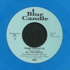 ALL THE PEOPLE feat ROBERT MOORE - Cramp Your Style (remastered) (reissue)