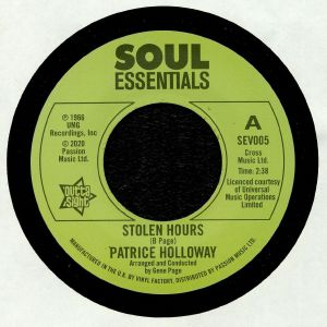 HOLLOWAY, Patrice - Stolen Hours