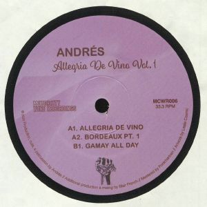 ANDRES - Allegria De Vino Vol 1