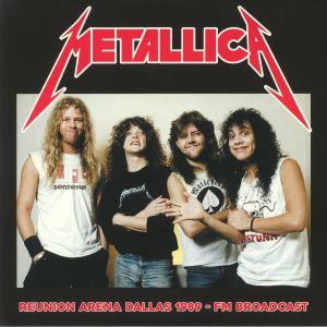 METALLICA - Reunion Arena Dallas 1989 FM Broadcast