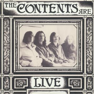 CONTENTS ARE, The - Live Davenport Iowa 1968