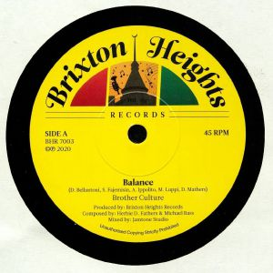 BROTHER CULTURE/JAMTONE - Balance
