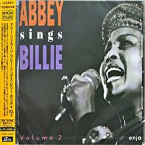LINCOLN, Abbey - Abbey Sings Billie: Live At The UJC Voll 2 (remastered)