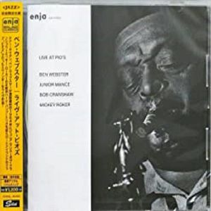 WEBSTER, Ben - Live At Pio's (remastered)