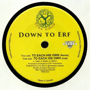 DOWN TO ERF - To Each His Own (remix)