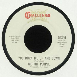 WE THE PEOPLE - You Burn Me Up & Down (remastered)