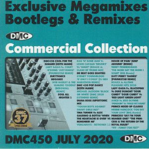 VARIOUS - DMC Commercial Collection July 2020: Exclusive Megamixes Bootlegs & Remixes (Strictly DJ Only)