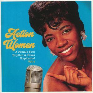 O'BRIEN, Betty/BARBARA LYNN/ERMA FRANKLIN/MAXINE BROWN - Action Women Vol 4
