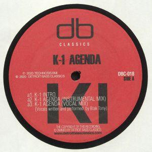 DJ K 1 - K 1 Agenda (reissue)