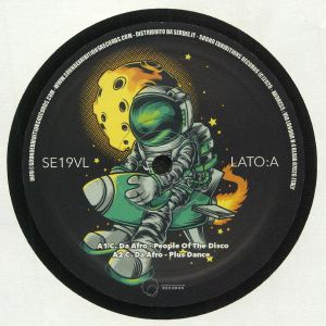 C DA AFRO - People Of The Disco EP
