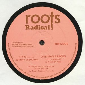 OSBOURNE, Johnny/LITTLE WASHIE/THE ROOTS RADICS - TKO (warehouse find, slight sleeve wear)