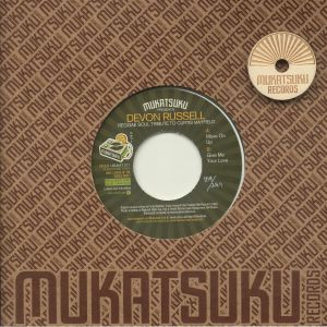 MUKATSUKU presents DEVON RUSSELL - Reggae Soul Tribute To Curtis Mayfield: Special 45 Adapter Edition (Juno Exclusive)