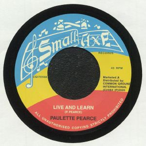 PEARCE, Paulette - Live & Learn