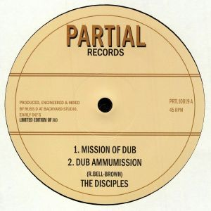 DISCIPLES, The - Mission Of Dub