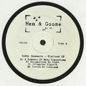 CAZANOVA, Bobby - Flatland EP
