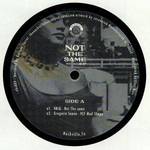 4NIQ/GREGORIO SOAVE - Not The Same EP