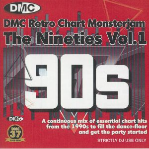 VARIOUS - Retro Chart Monsterjam The Nineties Vol 1 (Strictly DJ Only)