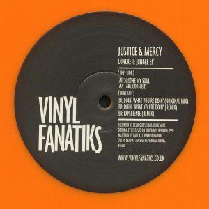 JUSTICE/MERCY - Concrete Jungle EP (reissue)