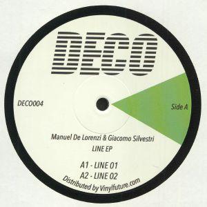 DE LORENZI, Manuel/GIACOMO SILVESTRI - Line EP