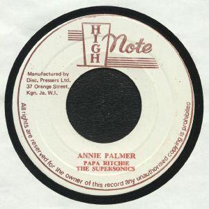 PAPA RICHIE/THE SUPERSONICS - Annie Palmer (warehouse find, slight sleeve wear)
