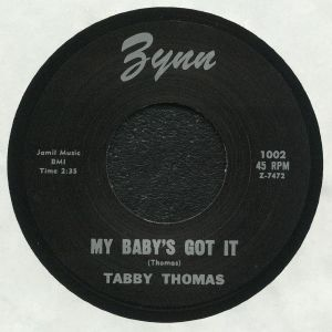 TABBY THOMAS - My Baby's Got It