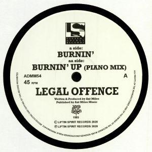 LEGAL OFFENCE - Burnin' (reissue)