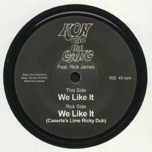 KON & THE GANG feat RICK JAMES - We Like It