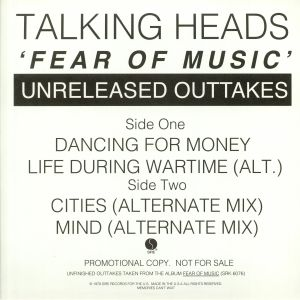 TALKING HEADS - Fear Of Music (Unreleased Outtakes)