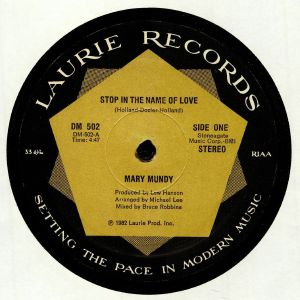MUNDY, Mary - Stop In The Name Of Love (reissue)