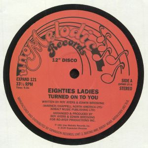EIGHTIES LADIES - Turned On To You (reissue)