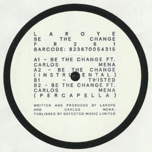LAROYE - Be The Change EP