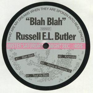 BUTLER, Russell EL - Blah Blah