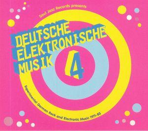 VARIOUS - Deutsche Elektronische Musik 4: Experimental German Rock & Electronic Music 1971-83