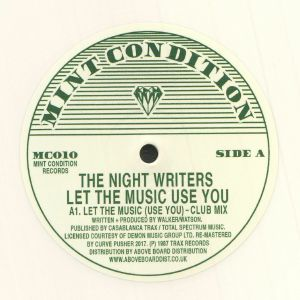NIGHT WRITERS, The - Let The Music (Use You) (repress)