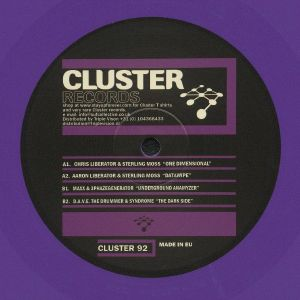 LIBERATOR, Chris/STERLING MOSS/AARON LIBERATOR/MAXX/3PHAZEGENERATOR/DAVE THE DRUMMER/SYNDROME - Cluster 92 (repress)