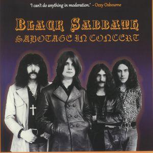 BLACK SABBATH - Sabotage In Concert