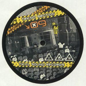 NKOD OQP CREW/LA FREEPOUILLE SAGOUINS CREW/BACK2KICK TIKAL SOUND RECORDS/TOTAL REKURT REVE PARTY RECORDS - TEKNOSECTION 09