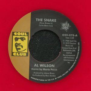 WILSON, Al - The Snake (reissue)