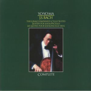 YO YO MA - JS Bach: The Unaccompanied Cello Suites (reissue)