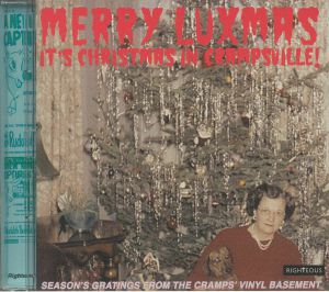 VARIOUS - Merry Luxmas: It's Christmas In Crampsville! Season's Gratings From The Cramps' Vinyl Basement