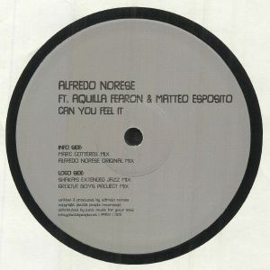 NORESE, Alfredo feat AQUILLA FEARON/MATTEO ESPOSITO - Can You Feel It (feat Marc Cotterell, Shaka & Groove Boys Project mixes)