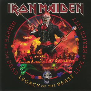 IRON MAIDEN - Nights Of The Dead Legacy Of The Beast: Live In Mexico City