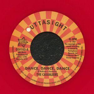 CASUALEERS, The/CHUCK WOOD - Dance Dance Dance (reissue)