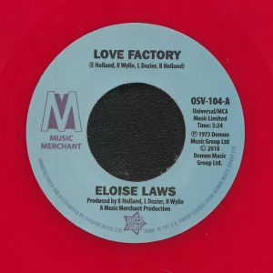 ELOISE LAWS/JUST BROTHERS - Love Factory (reissue)