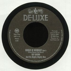 BROWN, Roy & HIS MIGHTY MIGHTY MEN/LLOYD PRICE - Boogie At Midnight