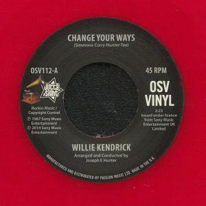 KENDRICK, Willie - Change Your Ways (reissue)