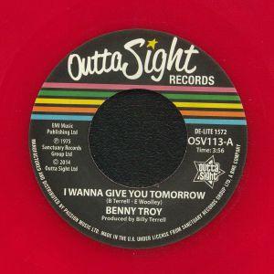 TROY, Benny - I Wanna Give You Tomorrow (reissue)