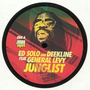 ED SOLO/DEEKLINE feat GENERAL LEVY - Junglist