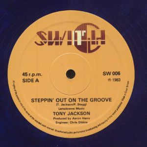 JACKSON, Tony - Steppin' Out On The Groove (reissue)