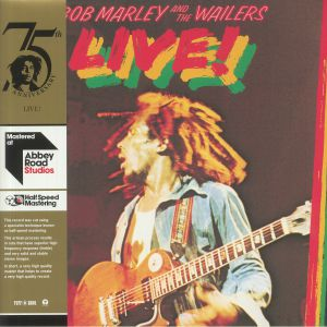 MARLEY, Bob & THE WAILERS - Live! (half speed remastered)
